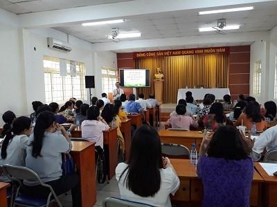 Tập huấn Xây dựng Kế hoạch giáo dục cá nhân cho học sinh khuyết tật cấp tiểu học năm học 2018 – 2019