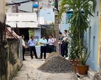 Phường 11 tổ chức khởi công công trình duy tu, nâng cấp, chống ngập hẻm 159 52 Trần Văn Đang