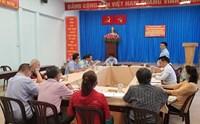Phường 4 Tiếp đoàn giám sát của Ủy ban MTTQ Việt Nam quận 3