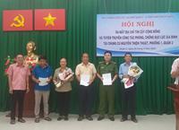 Tuyên truyền, phổ biến Công tác Phòng, chống bạo lực gia đình tại Chung cư Nguyễn Thiện Thuật và ra mắt địa chỉ tin cậy cộng đồng Phường 1, Quận 3