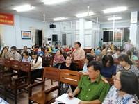 Hội nghị tiếp xúc, đối thoại trực tiếp giữa người đứng đầu cấp ủy, người đứng đầu chính quyền với nhân dân, hội viên phụ nữ và đoàn viên thanh niên Phường 3