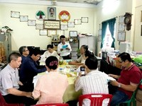 Tổng kết công tác Thanh tra nhân dân phường 9 quận 3 nhiệm kỳ 2020 2022
