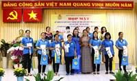 Liên đoàn Lao động họp mặt kỷ niệm Ngày thành lập Hội Liên hiệp Phụ nữ Việt Nam