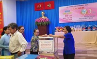 Phường 4 Phát động đóng góp ủng hộ đồng bào miền Trung bị thiên tai lũ lụt