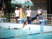 Giải bơi lội CNVC-LĐ khối trường học quận 3