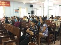Phường 3 tổ chức Hội nghị tuyên truyền phòng, chống dịch bệnh sốt xuất huyết và COVID-19; phổ biến Nghị định 117 2020 NĐ-CP và bảo hiểm y tế, bảo hiểm xã hội tự nguyện