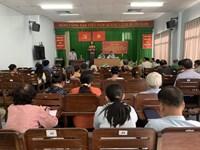 Tổ đại biểu Hội đồng Nhân dân quận 3 tiếp xúc cử tri phường 6
