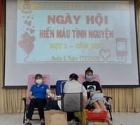 Ngày hội CNVC-LĐ quận 3 hiến máu tự nguyện