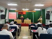 Kỳ họp Hội đồng Nhân dân Phường 12 lần thứ 15