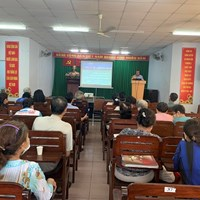 Phường 3 Học tập, quán triệt Nghị quyết Đại hội đại biểu Đảng bộ Thành phố lần thứ XI