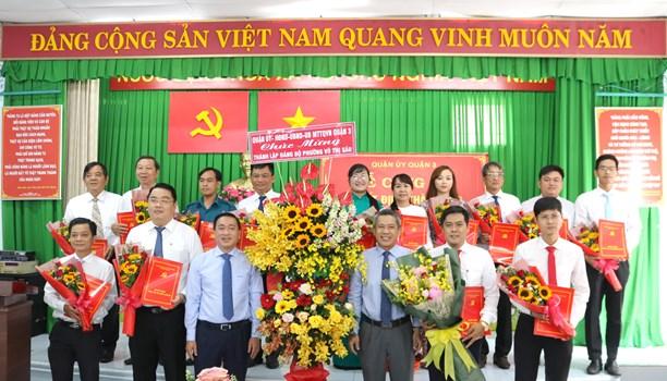 Thành lập Đảng bộ Phường Võ Thị Sáu, Quận 3