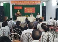 Phường 14 tổ chức hội nghị tiếp xúc cử tri sau kỳ họp thứ 13 HĐND Quận và sau họp thứ 16 HĐND Phường 14