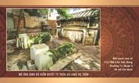 MỘ ÔNG BINH BỘ KIỂM DUYỆT TY THỪA VỤ LANG HỌ TRẦN