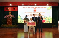Kỷ niệm 91 năm Ngày thành lập Đảng Cộng sản Việt Nam và trao huy hiệu Đảng đợt 3 2