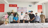 Phường 12 Thăm, chúc mừng Ngày Thầy thuốc Việt Nam