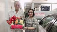 Phường 3 tổ chức các hoạt động tri ân nhân Ngày thầy thuốc Việt Nam