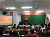 Phường 3 tổ chức Hội nghị tuyên truyền Luật Khiếu nại, Tố cáo và Luật Phòng, chống tham nhũng