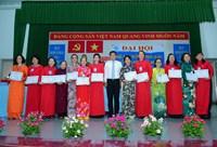 Đại hội Đại biểu Hội liên hiệp Phụ nữ phường Võ Thị Sáu lần thứ I, nhiệm kỳ 2021-2026