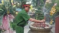 Công an Quận 3 tổ chức Lễ viếng và dâng hương tại Đài liệt sĩ Quận 3 nhân kỷ niệm 46 năm Ngày giải phóng hoàn toàn miền Nam, thống nhất đất nước 30 4 1975-30 4 2021 ; 131 năm Ngày sinh Chủ tịch Hồ Chí Minh 19 5 1890 – 19 5 2021