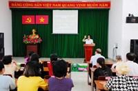 Ủy ban nhân dân phường 1 Tuyên truyền, phổ biến Luật Bầu cử đại biểu Quốc Hội và đại biểu Hội đồng nhân dân năm 2015 nhân ngày pháp luật tháng 3 2021
