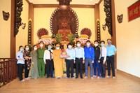 Phường 2 thăm và chúc mừng đại lễ Phật đản 2021 PL 2565