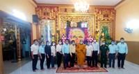 Phường 13 Thăm và chúc mừng đại lễ Phật Đản