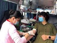 Phường 11 tổ chức hiến máu tình nguyện