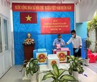 Phường 11 tổ chức bầu cử đại biểu Quốc hội khóa XV và đại biểu Hội đồng nhân dân Thành phố Hồ Chí Minh khóa X nhiệm kỳ 2021-2026