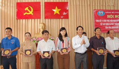 """Phường 1 15 năm thực hiện Nghị quyết Trung ương 5 khóa VIII về """"Xây dựng và phát triển nền văn hóa Việt Nam tiên tiến, đậm đà bản sắc dân tộc"""""""